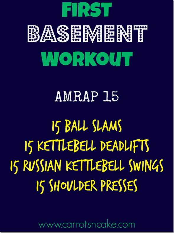 First_Basement_Workout_