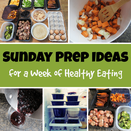 Sunday Food Prep Ideas for a Week of Healthy Eating – Carrots 'N ...
