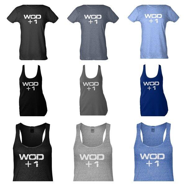WOD 1 shirts