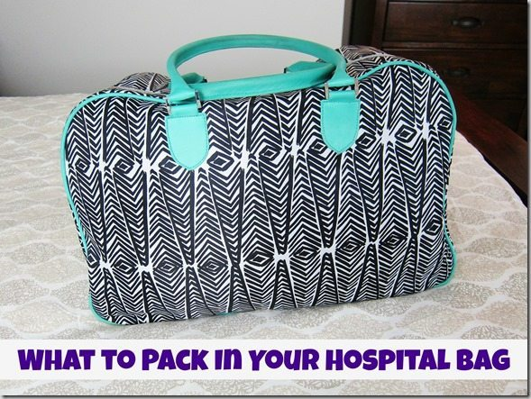 What to pack in your hospital bag - packing list