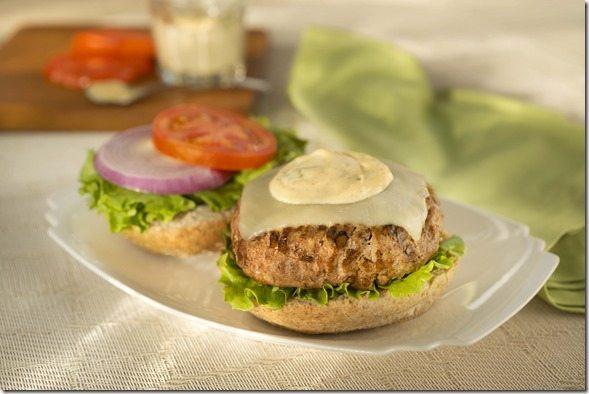 Creamy Sage Burger Topping