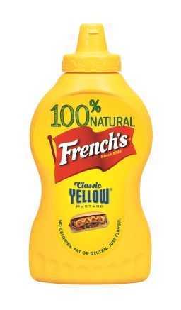 French's Yellow Mustard Bottle