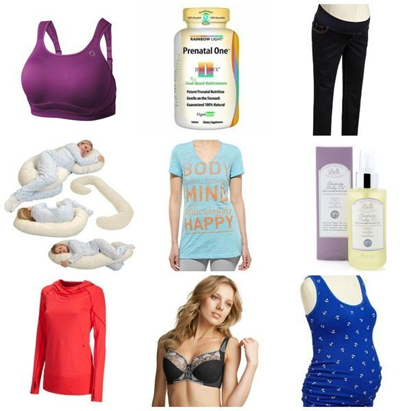 My favorite products from pregnancy
