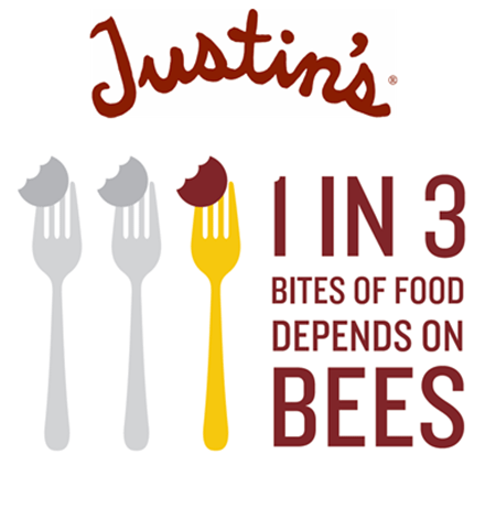 justin's_1_in_3_bites_of_food_depends_on_bees