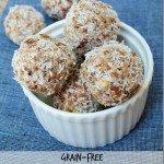 Grain-Free Almond Butter Granola Balls