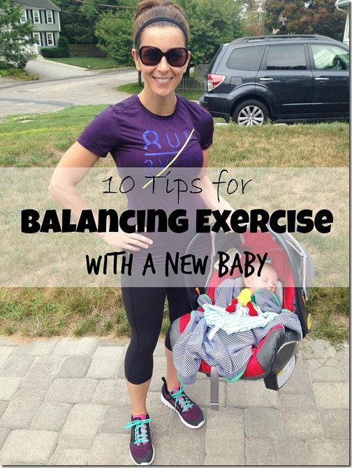 10 Tips for Balancing Exercise With a New Baby