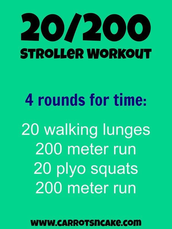 20200 stroller workout