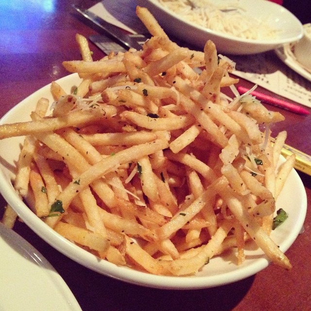 Truffle fries from the @yardhouse are the bomb! ? #trufflefries #yardhouse #lunch