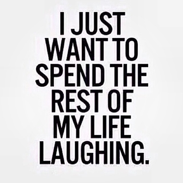 Yep. #laugh #laughing #qotd