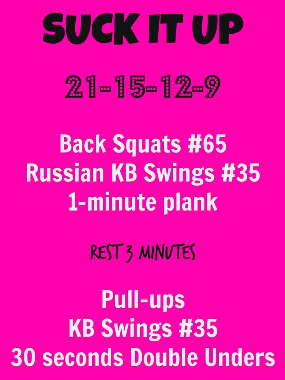 KFIT Suck It Up Workout