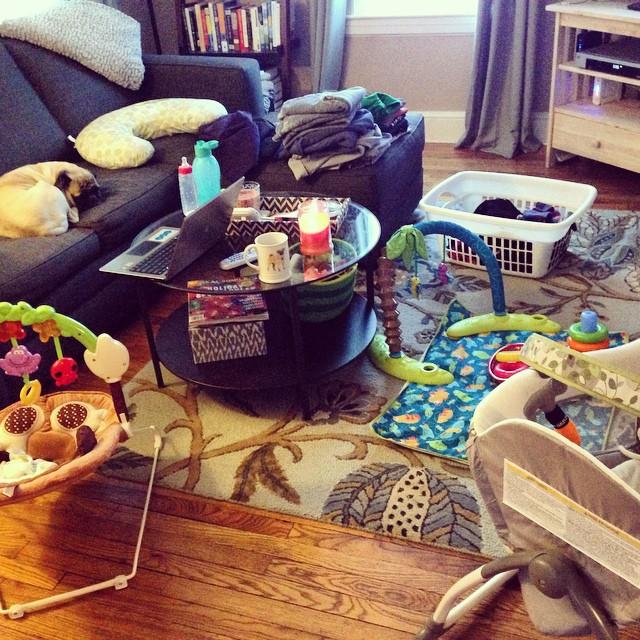Holy baby toys! #babytoys #livingroom #junebaby #weneedabiggerhouse #orlessstuff