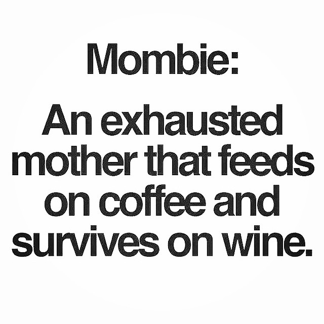 Nailed it. @amb872 #mombie #coffee #wine #wineme #junebaby