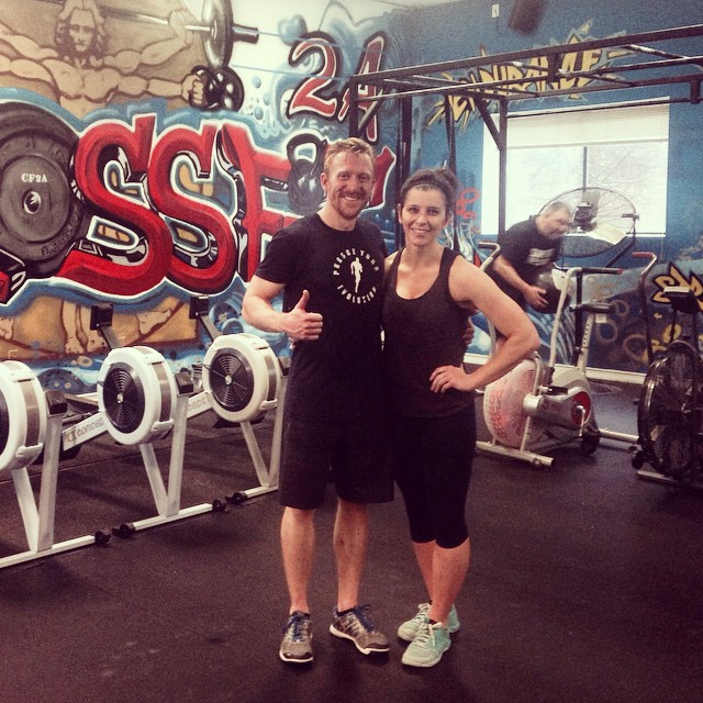 12 Days of Christmas WOD with @murphnmal! #crossfit #christmas #wod #fitmom