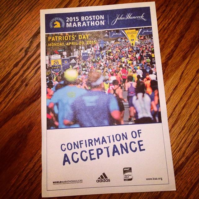 Holy cow. #pumped #teamstonyfield #bostonmarathon #marathon #fitmom #fitfluential #holycrap #26milesisfar