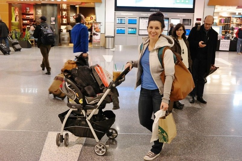 Wear Your Baby Through Security This Made Going With Our Stroller And Car Seat So Incredibly Easy We Used The Ergo For Carrying Quinn