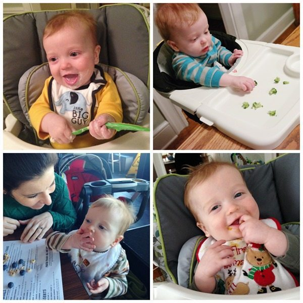 feeding our 9-month old