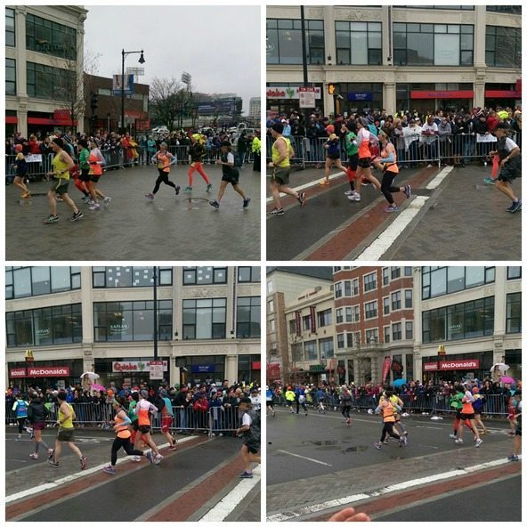Boston Marathon Kenmore Square