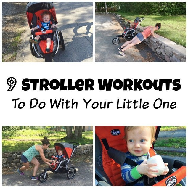 9 stroller workouts to do with your little one
