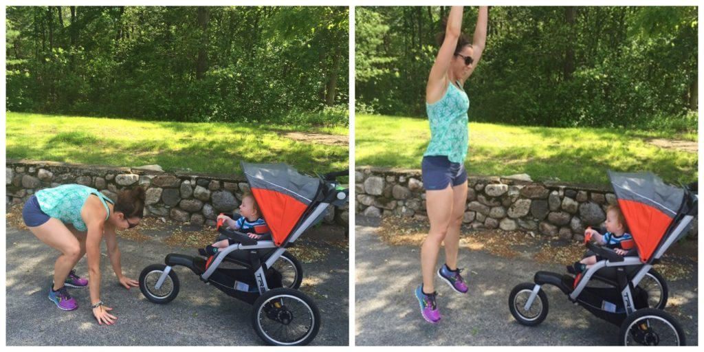 chicco tre jogging stroller workout