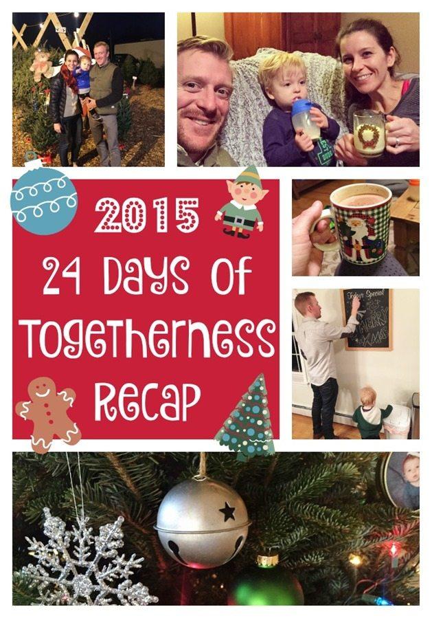 24 Days of Togetherness recap