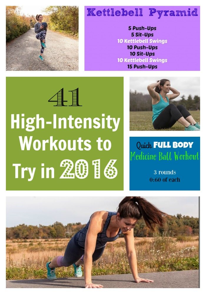 41 High-Intensity Workouts to try in 2016