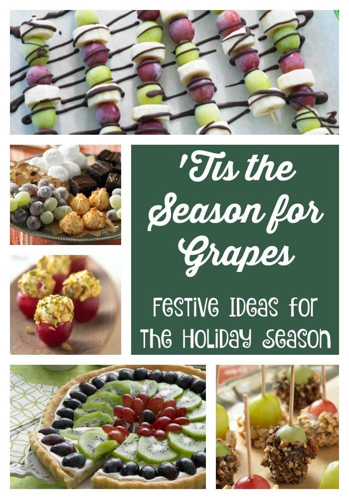 'Tis the Season for Grapes