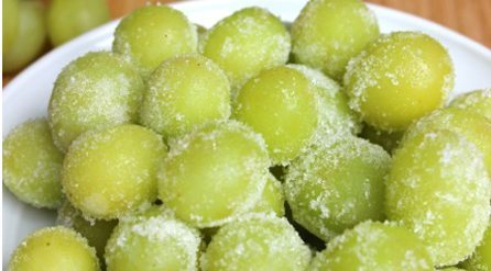 Wine Marinated Frozen Grapes cropped for website