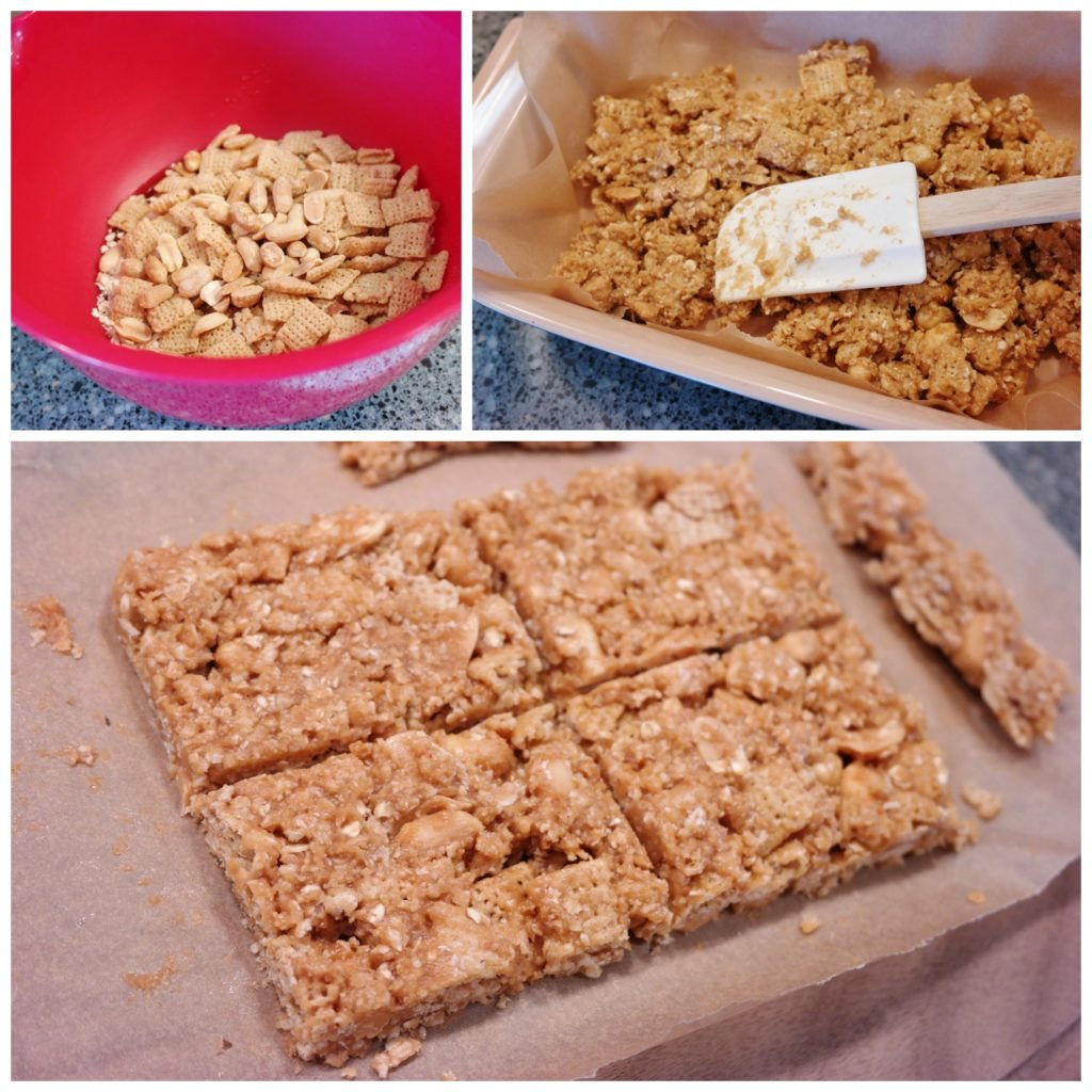 gluten-free no-bake peanut butter bars