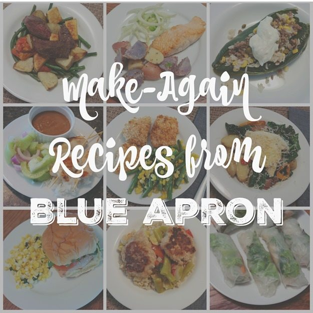 make-again recipes from Blue Apron