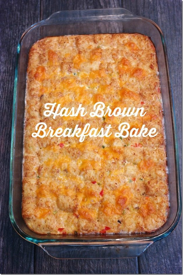 Hash Brown Breakfast Bake