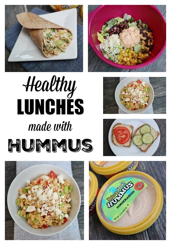 Healthy Lunches Made with Hummus