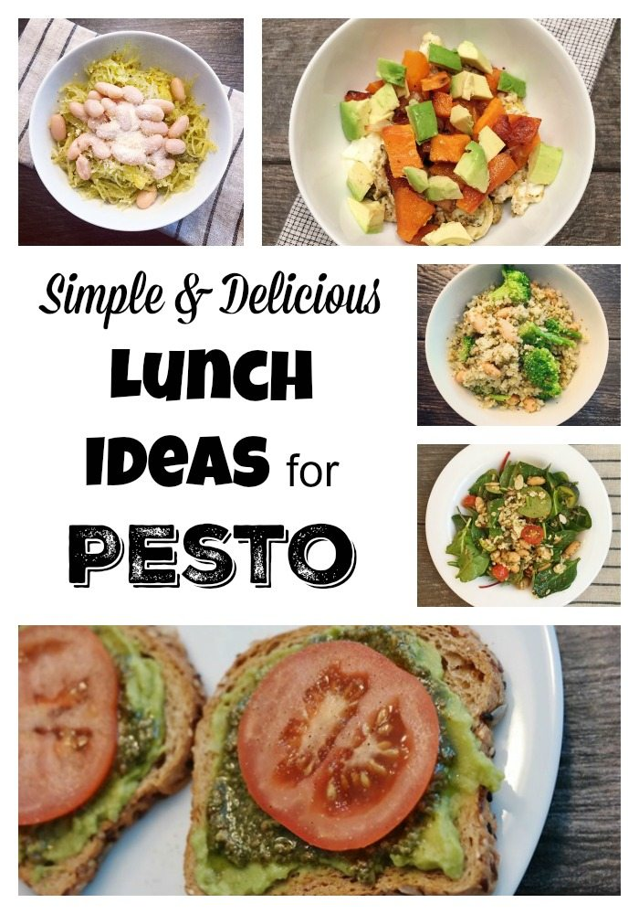 Simple & Delicious Lunch Ideas for Store-Bought Pesto