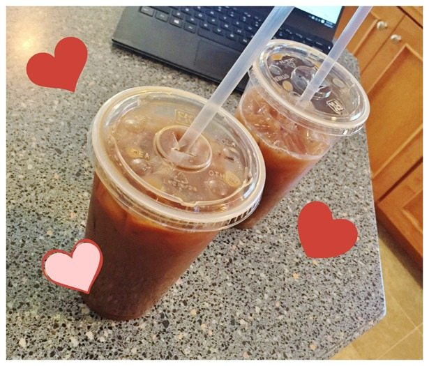 iced coffee love