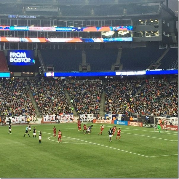 Revolution soccer game