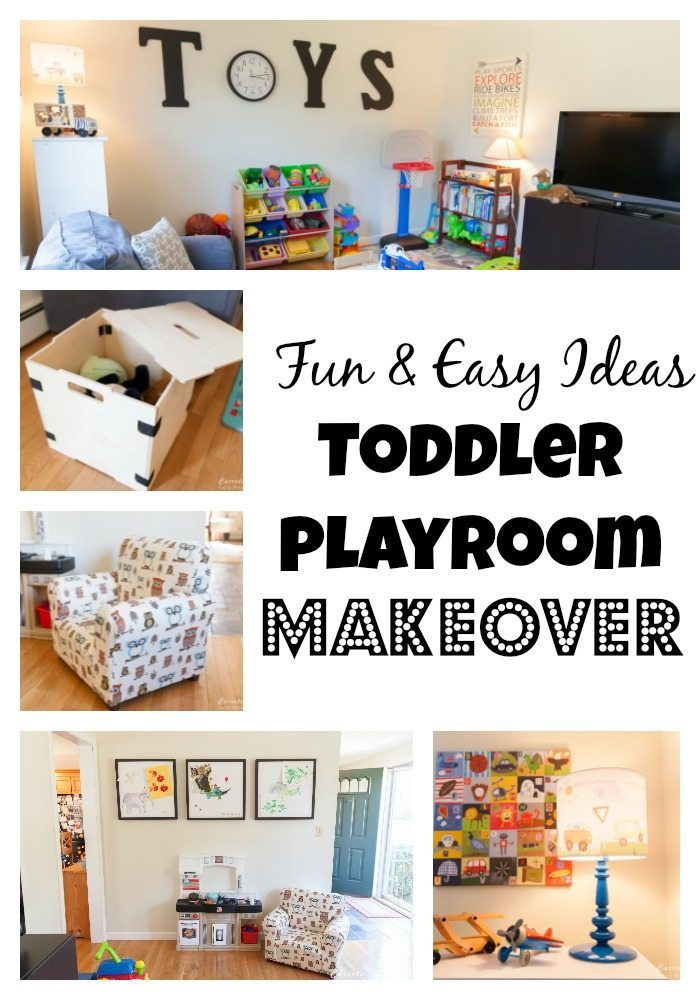 fun & easy ideas for a toddler playroom makeover