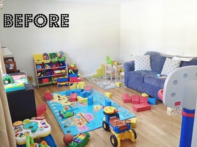playroom before wayfair