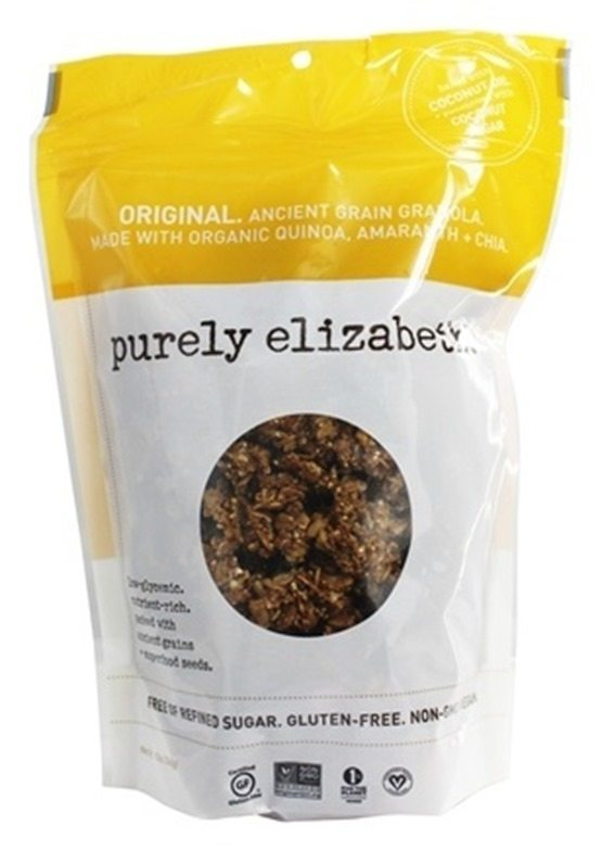 pure elizabeth granola is SO GOOD