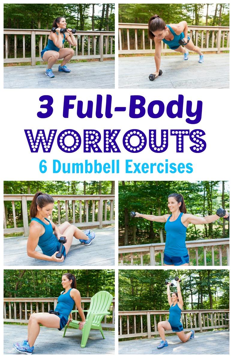 6 Dumbbell Exercises
