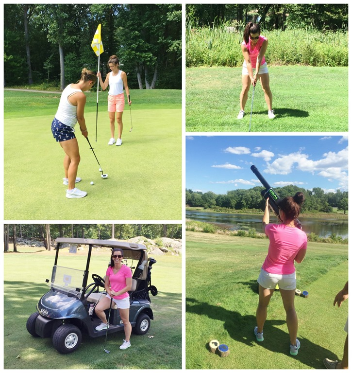 real golfers wear pink
