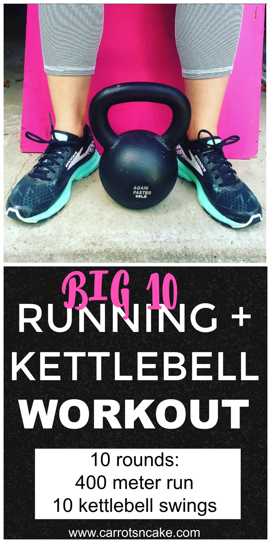 Big 10 Running Kettlebell Workout