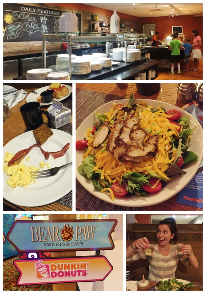 Food at Great Wolf Lodge