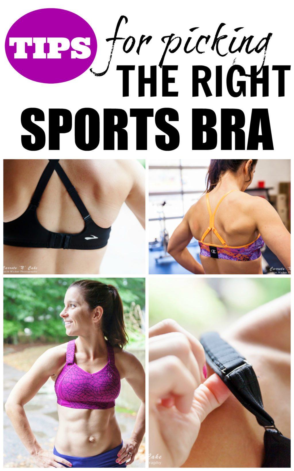TIPS FOR PICKING THE RIGHT SPORTS BRA