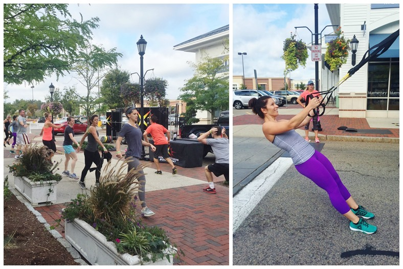 derby street shoppes cycle & sweat event