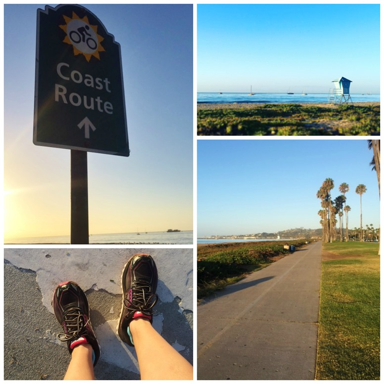 running in Santa Barbara