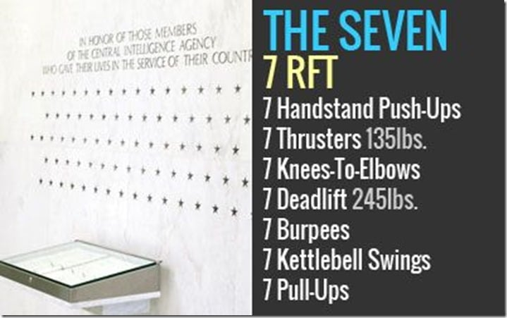 the seven workout crossfit
