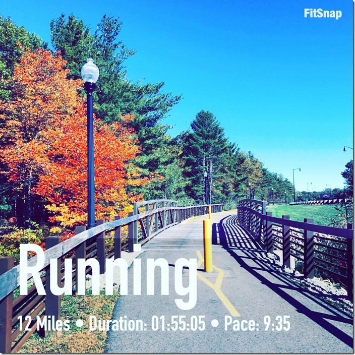 Fall Half Marathon Training: Week 6