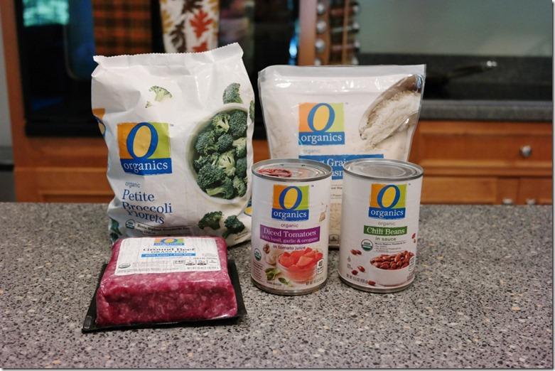 o organics ingredients