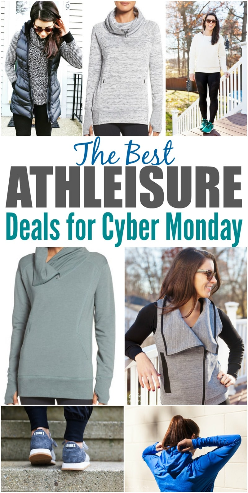 The Best Athleisure Finds for Cyber Monday
