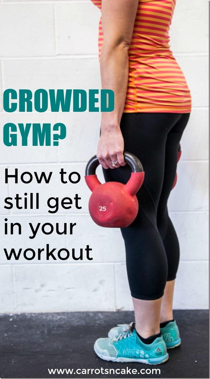 crowded gym problems
