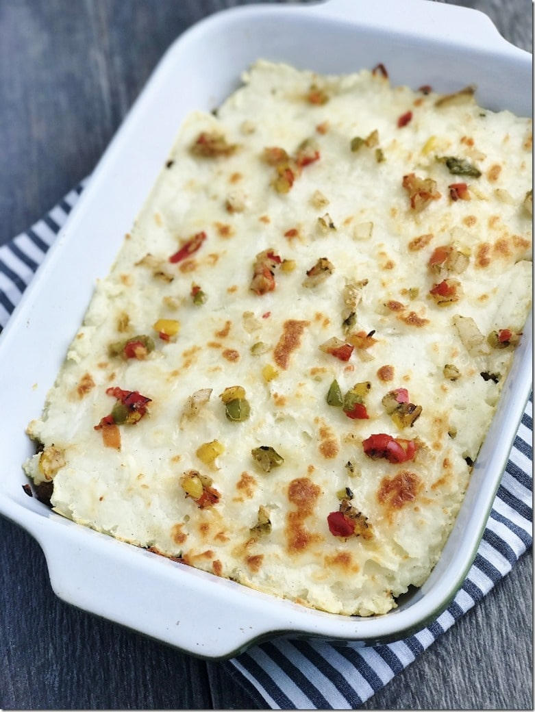 pizza shepherd's pie